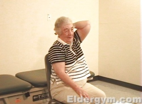 Triceps stretch middle