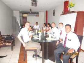 Wonderful Sunday dinner with the Velasquez Family's!