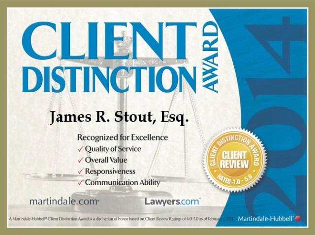 2014 Client Distinction