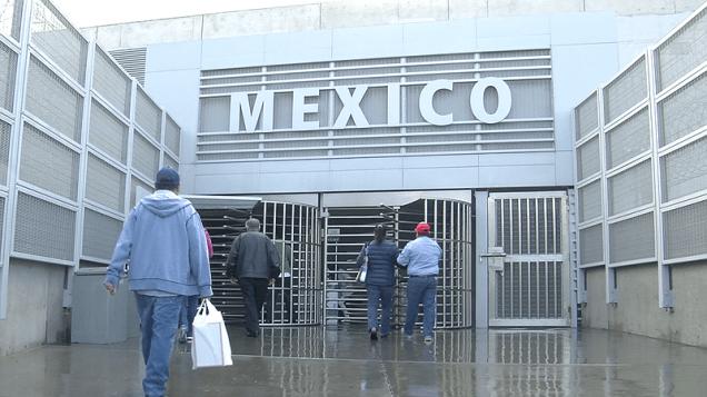 Entering Mexico 1