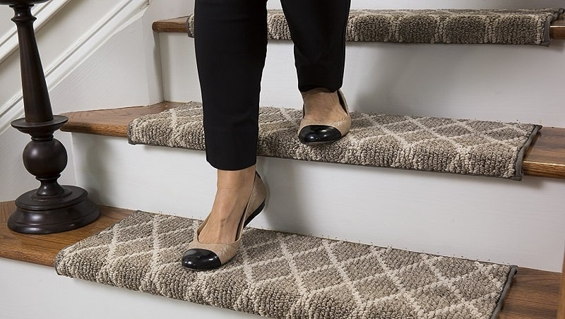 10 Best Slip Free Strips And Treads For Indoor Stairs 2020 | Safety Treads For Wooden Stairs | Anti Slip Stair Nosing | Rubber | Pet Friendly | Slip Resistant | Floating Staircase