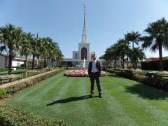 Elder Paxton at Sao Paulo Temple