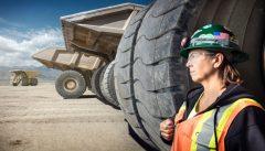 Leeann Johnson, Haul Truck Driver, Round Mountain Gold Mine