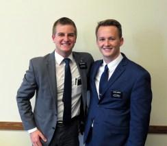 Elder Staheli & Elder Runyan
