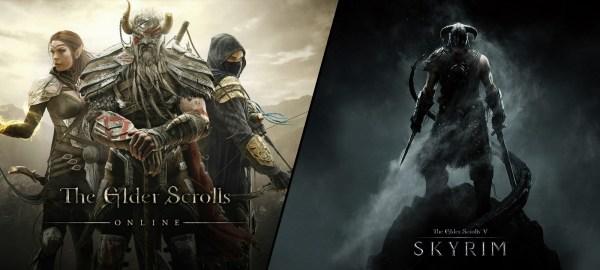Elder Scrolls Online vs Skyrim