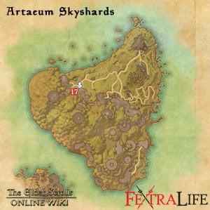 Eastmarch Skyshards Map Elder Scrolls Online Guides Modern Home