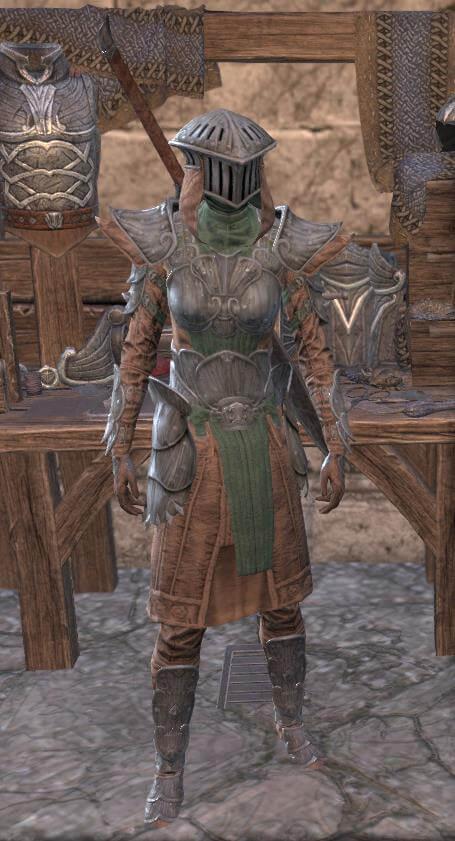 Elder Scrolls Online Toxic Armor