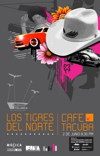Tigres del Norte - Café Tacvba - Auditorio Telmex