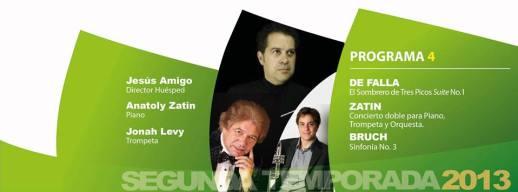 Cuarto programa de la Orquesta Filarmónica de Jalisco