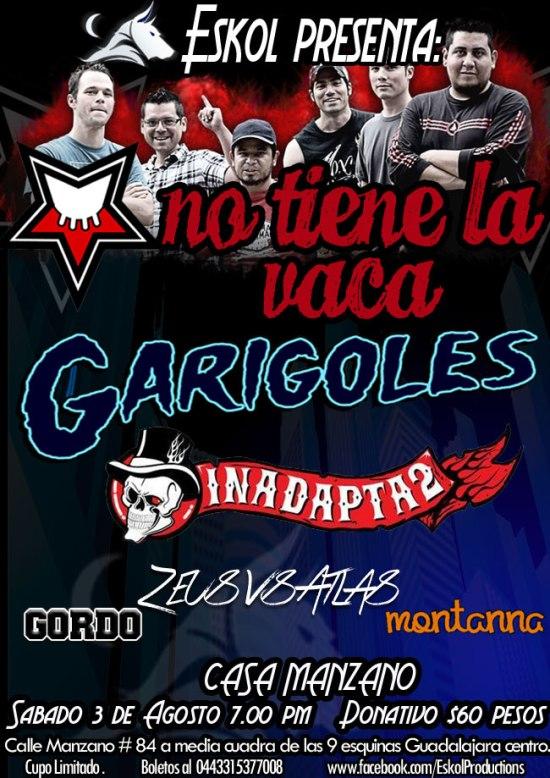 Garigoles NTLV 3 de agosto, Casa Manzano