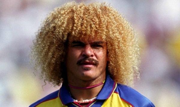 Carlos Valderrama, una leyenda del fútbol colombiano.