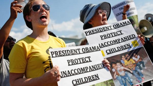 Protestas en contra de las leyes de inmigración en EUA / Foto: Telemundo Dallas