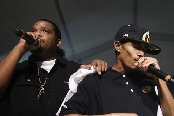 Bone Thugs-N-Armony en SXSW en 2010. Foto:Linda Flores.