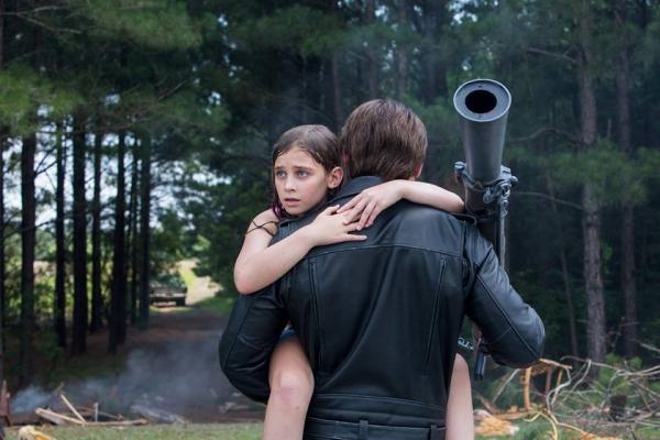 Sarah Connor cuando aún era una niña. Foto: Facebook oficial Terminator Génesis México.
