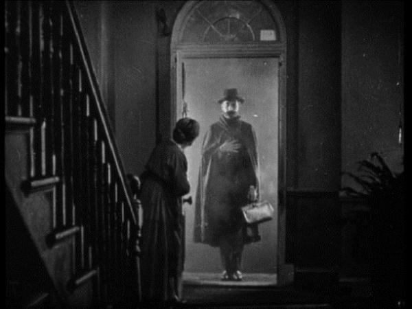 """The Lodger"" un filme realizado en 1927 por Alfred Hitchcock recientemente restaurado."