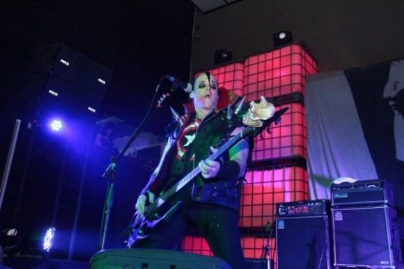 Jerry Only, miembro fundador de Misfits. Foto: Antonio Álvarez.