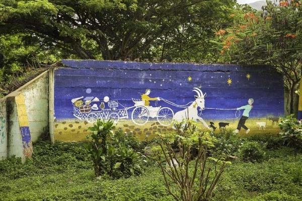 El fotógrafo, de origen inglés, reside en Colombia desde la década de los sesenta.