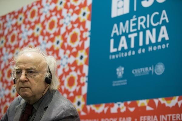 Norman Manea, premio FIL de Literatura 2016, Foto: ©FIL/Bernardo De Niz.