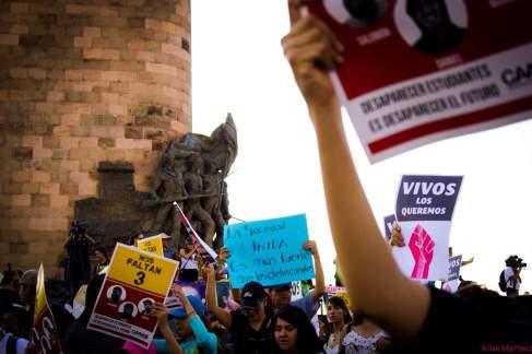 Estudiantes del CAAV desaparecidos
