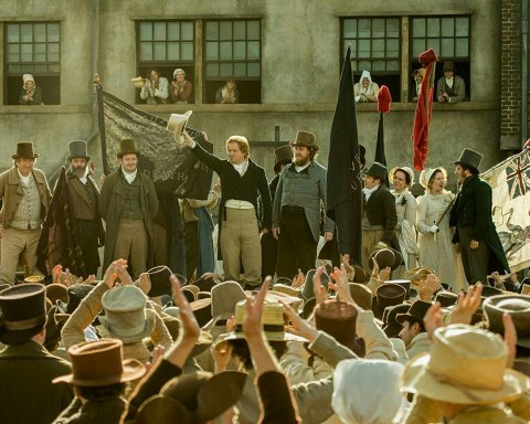 película británica peterloo