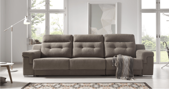 Sofa Con Chaise Longue Movil