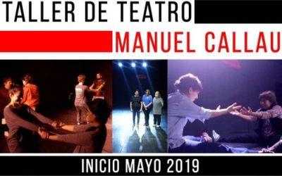 JUNIO 2019 – CREAR JUGANDO ENTRENAMIENTO – Manuel Callau