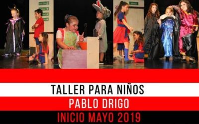 JUNIO 2019 – TALLER PARA NIÑOS – Pablo Drigo