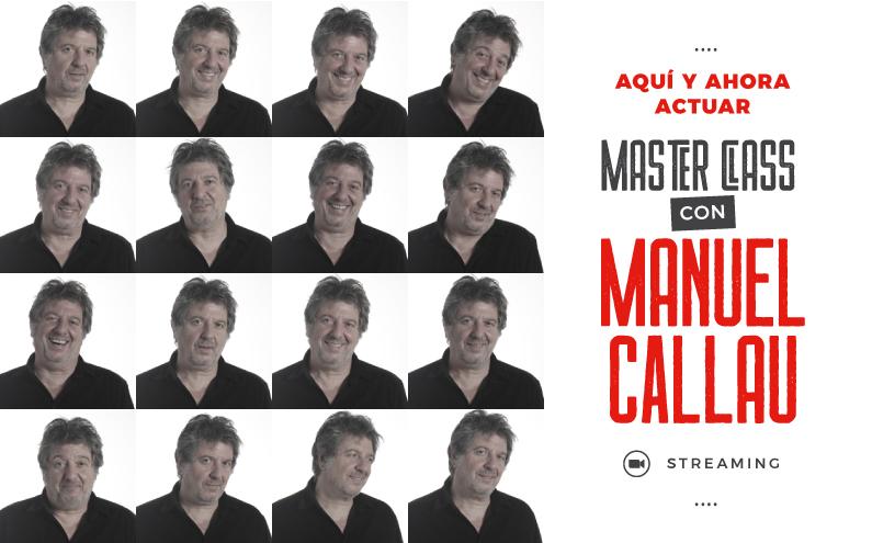 NUEVA FECHA de la MASTER CLASS con MANUEL CALLAU!