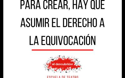 ÚLTIMAS VACANTES! TALLERES DE TEATRO 2021-  EL DESCUBRIDOR ESCUELA 🎭
