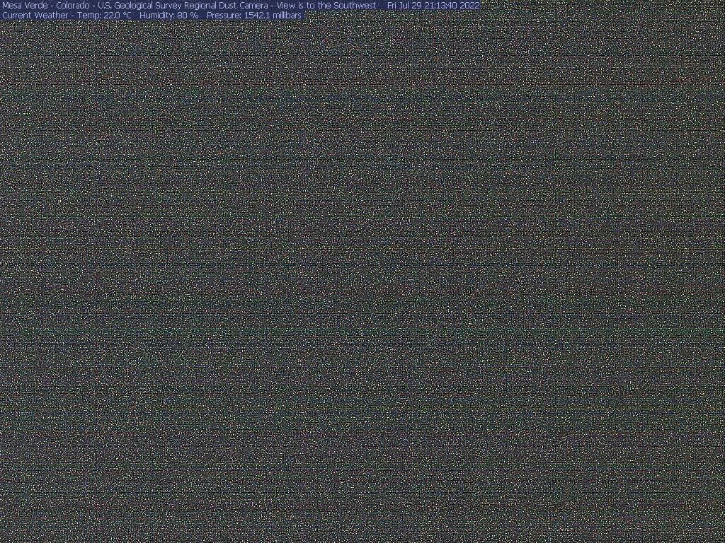Mesa Verde National Park Air Quality Camera