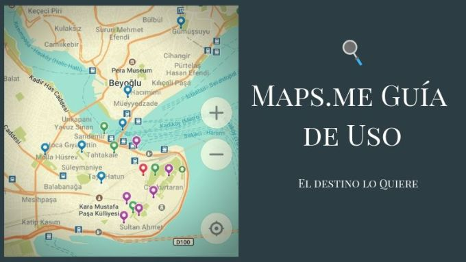 Guía de Uso MapsMe