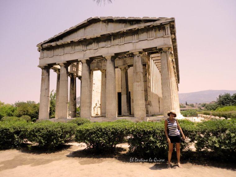 Atenas, Itinerario Grecia
