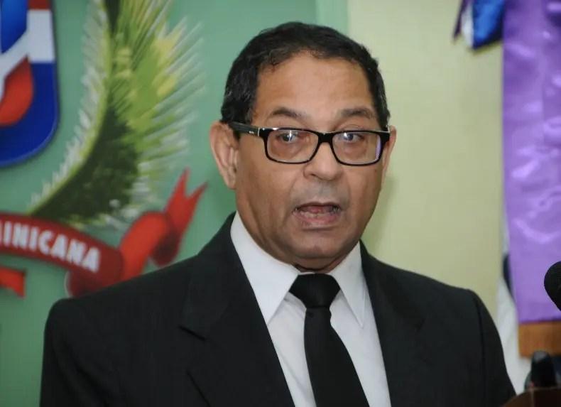 Mariano Germán, presidente de la Suprema Corte de Justicia.