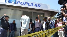 El asalto a la sucursal del Banco Popular del ensanche Isabelita se produjo el 28 de junio pasado.