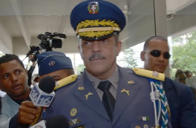 Mayor general  Nelson Peguero Paredes, director de la Policía.
