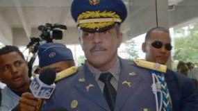 Mayor general  Nelson Peguero Paredes, director de la Policía.