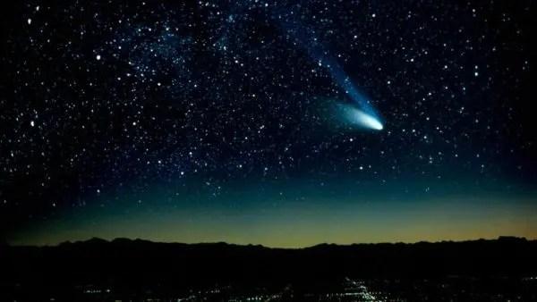 Un cometa pasará junto a la tierra durante la víspera del año nuevo. | Foto: Telemundo