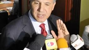 El ministro de la Presidencia, José Ramón Peralta