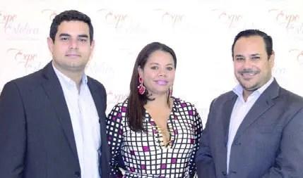 Carlos Canela, Fior Aquino y  Manuel Valerio.