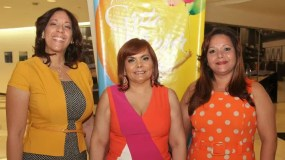 Jael Uribe, Ronmy Grullón y Gennnie Redondo.