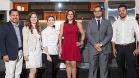 Raymundo Morales, Victoria Coppola, Isabel Vermal, Rosario Veras, Manuel Mueses y Christian Vanzini.