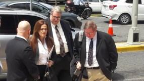 Los representante legal de Stanley Consultants en Estados Unidos llegaron a la Procuraduría a las 12:00 del mediodía.