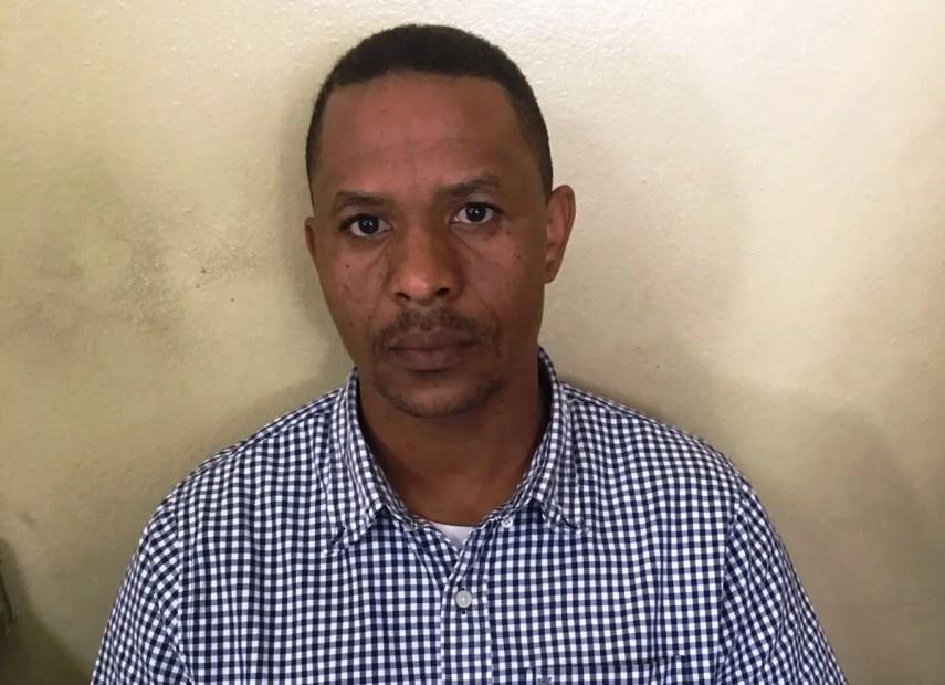 Tniente coronel policial Richar Capitrano Díaz de los Santos.