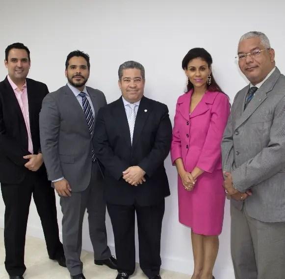 Danilo Ginebra, Daniel Marmolejos, Juan José Guerrero, Lisbeth Portorreal y Denis Berrocal