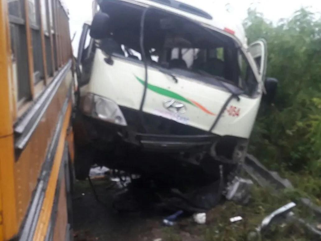 Seis heridos por accidente en Punta Cana