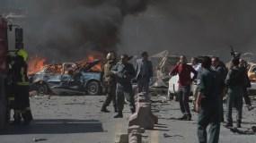 El ataque es  uno de los más violentos  en  capital de Afganistán.