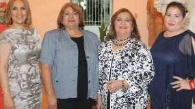 Vicky Jácquez, Fior Fernández, Mercy Jácquez y Evangelina Reyes