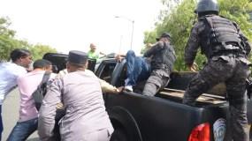 La Procuraduría General ha sido escenario de enfrentamientos entre jóvenes y agentes de Policía.