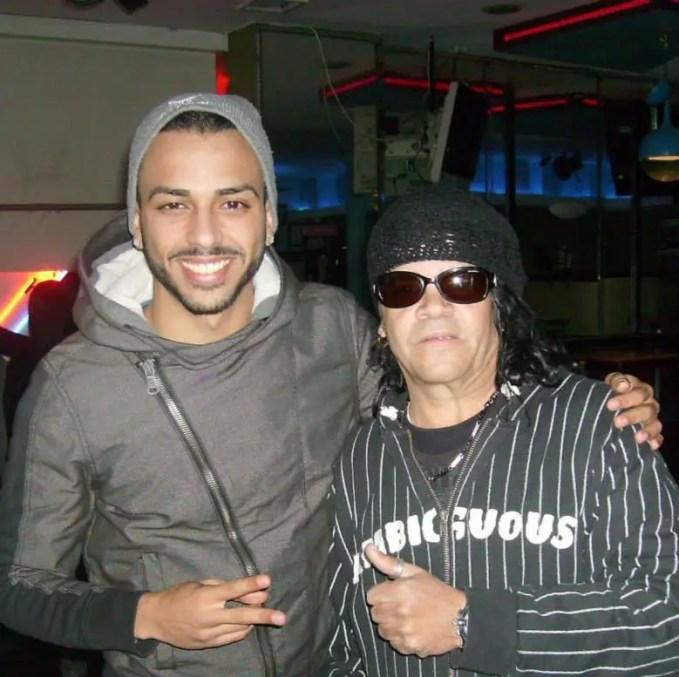 Foto de archivo del Zafiro y su hijo Zafirito Gabriel.