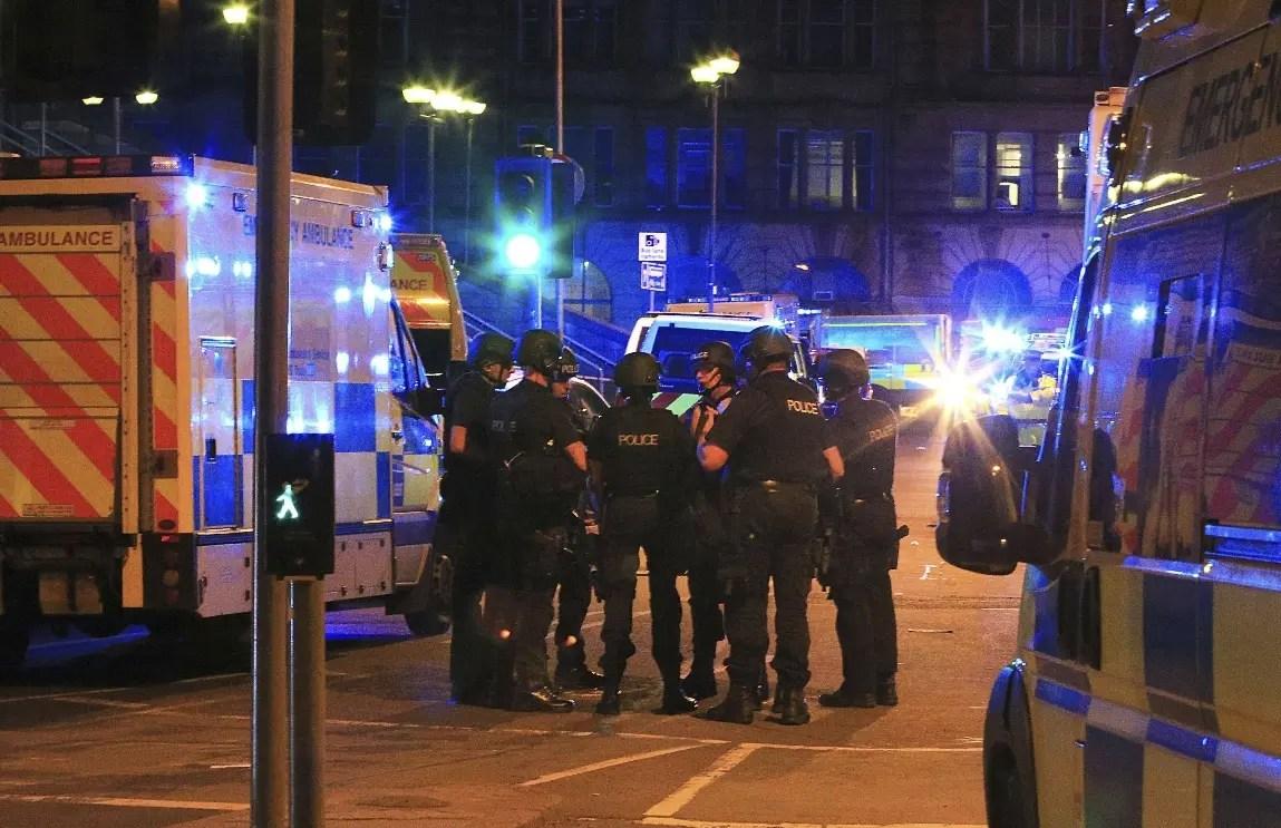 Pánico en Manchester tras gran explosión durante un concierto